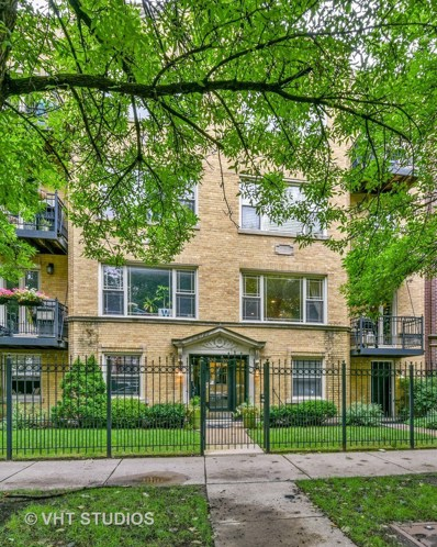 1210 W Roscoe Street UNIT 1, Chicago, IL 60657 - #: 10080327