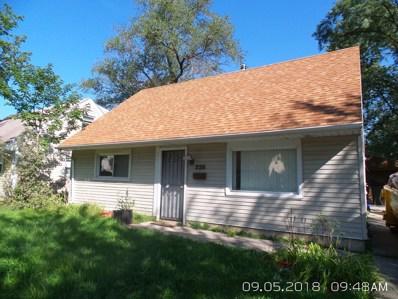 228 Arrowhead Street, Park Forest, IL 60466 - #: 10081920