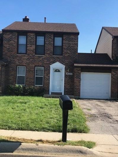 1348 Georgetown Drive UNIT 1348, Carol Stream, IL 60188 - MLS#: 10084354