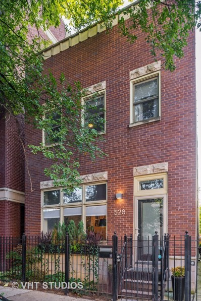528 N Hermitage Avenue, Chicago, IL 60622 - MLS#: 10085177
