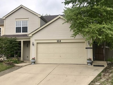 134 Horizon Circle, Carol Stream, IL 60188 - MLS#: 10086556