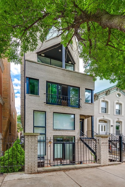 1427 N Mohawk Street UNIT 3, Chicago, IL 60610 - #: 10086649