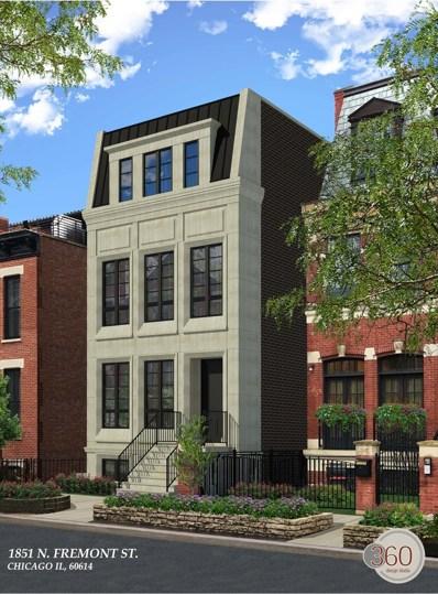 1851 N Fremont Street, Chicago, IL 60614 - MLS#: 10086746