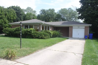 343 Indian Drive, Glen Ellyn, IL 60137 - #: 10086756