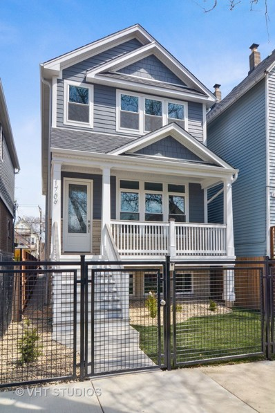 1709 N Washtenaw Avenue, Chicago, IL 60647 - MLS#: 10088723