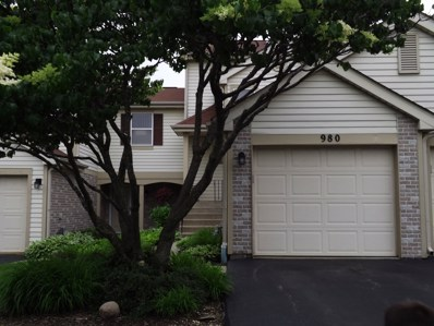 980 Butter Creek Court, Hoffman Estates, IL 60169 - #: 10089974