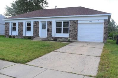 801 Lacy Avenue, Streamwood, IL 60107 - MLS#: 10090112