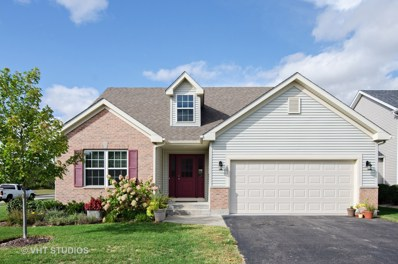 601 Indigo Lane, Woodstock, IL 60098 - #: 10090358