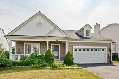 125 W Newbridge Lane, Round Lake, IL 60073 - #: 10092260