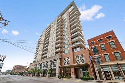 230 W Division Street UNIT 1407, Chicago, IL 60610 - MLS#: 10094355