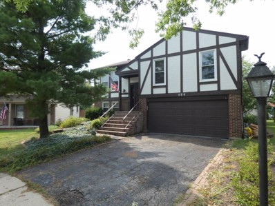 584 Kingston Court, Roselle, IL 60172 - #: 10095194