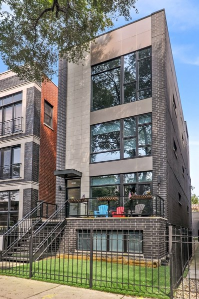 1021 N Honore Street UNIT 3, Chicago, IL 60622 - MLS#: 10095853