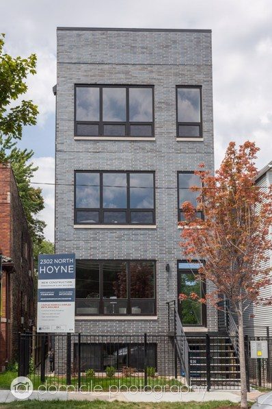 2302 N Hoyne Avenue UNIT 3, Chicago, IL 60647 - MLS#: 10096423