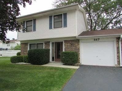 447 Degas Circle, Bolingbrook, IL 60440 - MLS#: 10097919