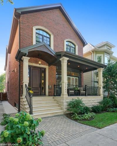 2443 W Wilson Avenue, Chicago, IL 60625 - MLS#: 10100190