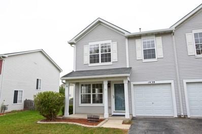 1438 Plantain Drive, Minooka, IL 60447 - MLS#: 10101550