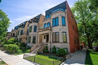 1257 W Addison Street UNIT 3, Chicago, IL 60613 - MLS#: 10102093