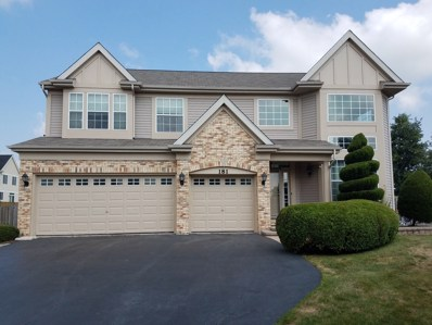 181 Heritage Woods Drive, West Chicago, IL 60185 - #: 10102709