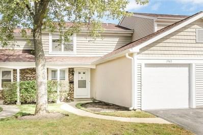 1943 Georgetown Lane UNIT 1943, Hoffman Estates, IL 60169 - #: 10103140
