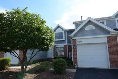 707 Daybreak Lane UNIT 707, Carol Stream, IL 60188 - MLS#: 10103941