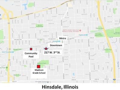 217 W 3rd Street, Hinsdale, IL 60521 - #: 10105380