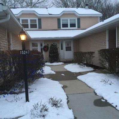 15247 Creekside Drive UNIT 29C, Oak Forest, IL 60452 - MLS#: 10107477