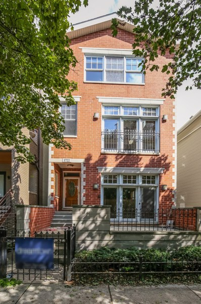 1722 W Roscoe Street UNIT 1, Chicago, IL 60657 - MLS#: 10108100