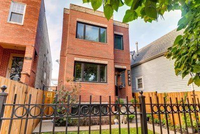 2442 W Homer Street, Chicago, IL 60647 - MLS#: 10109532