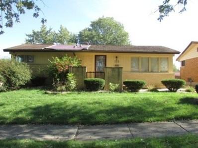 159 Mildred Lane, Chicago Heights, IL 60411 - #: 10112837