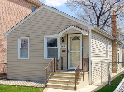 3439 N Overhill Avenue, Chicago, IL 60634 - MLS#: 10115486
