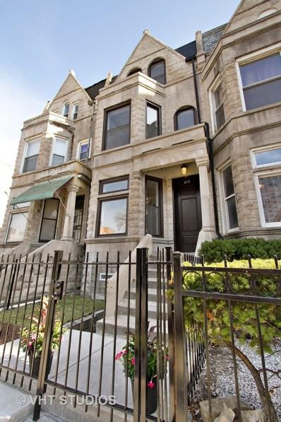 419 E 48th Place, Chicago, IL 60615 - #: 10116324