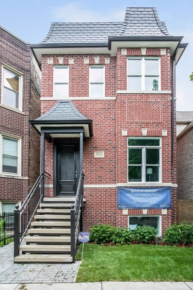 3313 N Oakley Avenue, Chicago, IL 60618 - #: 10116474