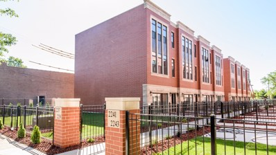 2237 W Coulter Street UNIT 1, Chicago, IL 60608 - #: 10117176