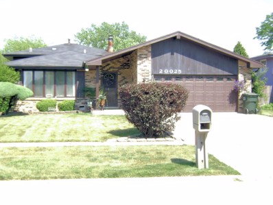 20025 Park Avenue, Lynwood, IL 60411 - #: 10120295