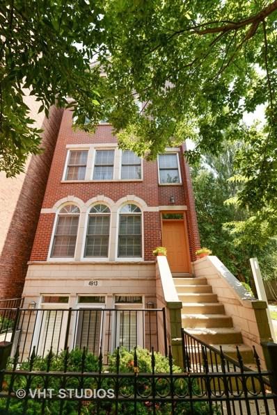 4913 N Ashland Avenue UNIT 3, Chicago, IL 60640 - MLS#: 10122473