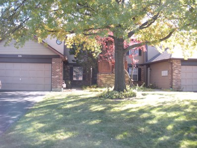 381 Sandhurst Circle UNIT 5, Glen Ellyn, IL 60137 - #: 10124500