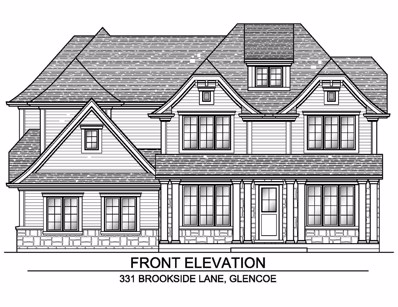 331 Brookside Lane, Glencoe, IL 60022 - #: 10126194