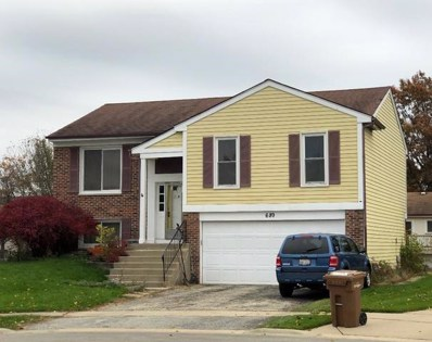 689 Foxdale Court, Roselle, IL 60172 - #: 10126283