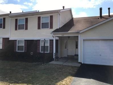 322 Newport Lane UNIT C1, Bartlett, IL 60103 - #: 10126548