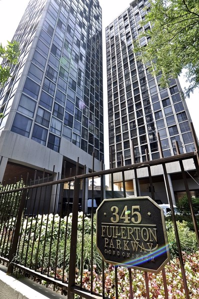 345 W Fullerton Parkway UNIT 1205, Chicago, IL 60614 - MLS#: 10126688