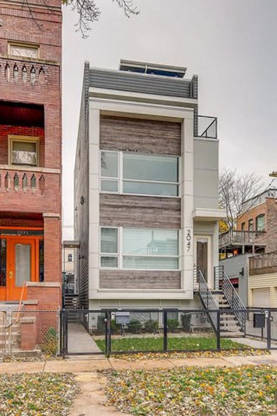 2047 W Rice Street UNIT 1, Chicago, IL 60622 - #: 10134128