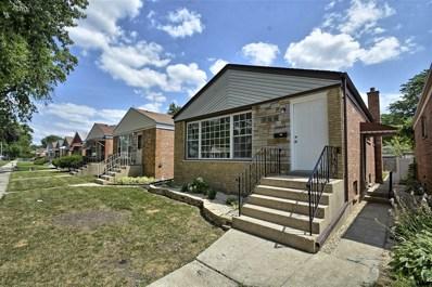 12523 S Honore Street, Calumet Park, IL 60827 - MLS#: 10135698