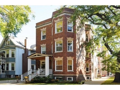 3903 N Seeley Avenue UNIT G, Chicago, IL 60618 - MLS#: 10138165