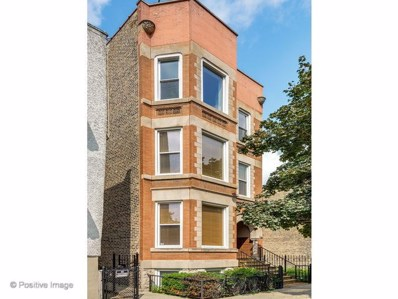 1460 W Ohio Street UNIT 3R, Chicago, IL 60642 - #: 10138297