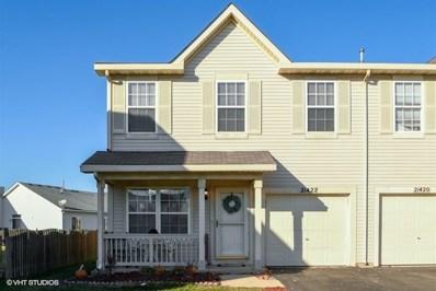 21422 Frost Court, Plainfield, IL 60544 - MLS#: 10138483