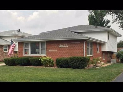 5432 W 128TH Place, Crestwood, IL 60418 - #: 10140484