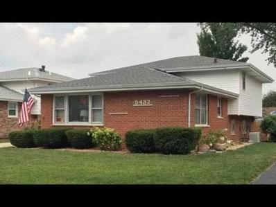 5432 W 128TH Place, Crestwood, IL 60418 - #: 10140484