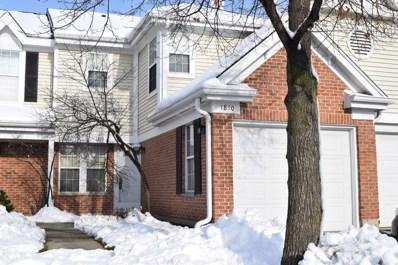 1810 Quaker Hollow Lane, Streamwood, IL 60107 - MLS#: 10146558