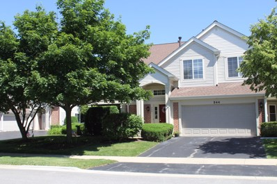 542 E Thornhill Lane UNIT 542, Palatine, IL 60074 - MLS#: 10150457