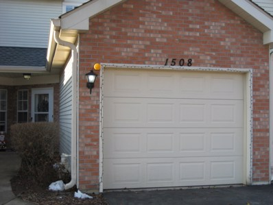 1508 Golfview Drive UNIT 1508, Glendale Heights, IL 60139 - MLS#: 10153344